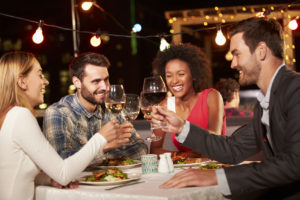 wine night out for singles